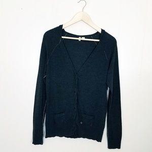 Anthropologie Moth Hooded Cardigan Sweater